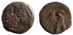 Ancient Coins - Ptolemaic Kings of Egypt. Ptolemy VIII Euergetes II (Physcon). 145-116 BC. Æ 23