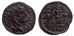 Ancient Coins - Bithynia, Nicaea. Gordian III. AD 238-244. Æ Assarion