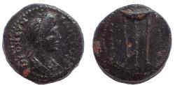 Ancient Coins - Lydia. Apollonis. Pseudo-autonomous. Possibly time of Titus to Domitian (79-96). Ae 16. Rare.
