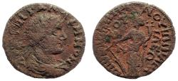 Ancient Coins - Phrygia. Cotiaeum. Gallienus AD 253-268. Ae 23. Apparently unpublished. Very Rare.