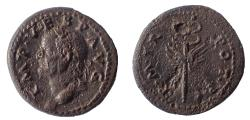 Ancient Coins - Vespasian. 69-79 AD. Æ Quadrans. Rare