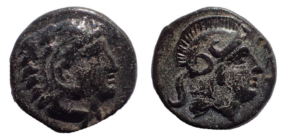 Ancient Coins - Mysia, Pergamon Æ 10. 3rd Century BC Rare.