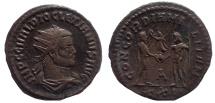 Ancient Coins - Diocletian. 284-305 AD. Antoninianus