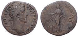 Ancient Coins - Antoninus Pius, 138-161 AD. AE Sestertius. Ex Harlan J Berk.