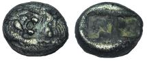 Ancient Coins - Kings of Lydia. Kroisos (Circa 560-546 BC). Siglos.