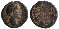 Ancient Coins - Cyrrhestica, Hierapolis. Antoninus Pius. AD 138-161. Æ 21