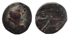 Ancient Coins - Sicily. Menaion. AE Tetras, after 210 BC