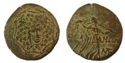Ancient Coins - Pontos, Amisos. Time of Mithradates VI. Circa 85-65 BC. Æ 22