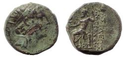 Ancient Coins - Seleukid Kings. Antiochos IV Epiphanes. 175-164 BC. Æ 19