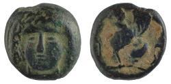 Ancient Coins - Caria, Kaunos, ca 390-370 BC. AE 9 Rare.