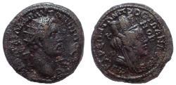 Ancient Coins - Cilicia, Anazarbus. Antoninus Pius. 138-161 AD. Æ 23