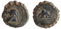 Ancient Coins - Seleukid Kingdom, Demetrios I AE 15