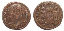 Ancient Coins - Constantine I AE 18  Heraclea Mint 330-333 AD