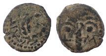 Ancient Coins - Judaea, Procurators. M. Ambibulus. 9-12 AD. Æ Prutah