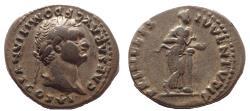 Ancient Coins - Domitian. As Caesar, AD 69-81. AR Denarius