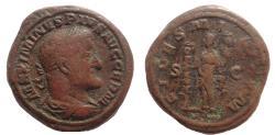 Ancient Coins - Maximinus I. 235-238 AD. Æ As. Rare.