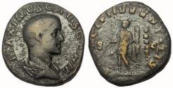 Ancient Coins - Maximus, as Caesar, 235-238 AD. AE Sestertius