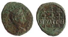 Ancient Coins - Bithynia, Nicaea,  Severus Alexander. AD 222-235. Æ 21. EF.