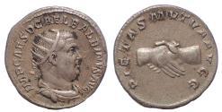 Ancient Coins - Balbinus. April-May AD 238. AR Antoninianus. Rare.