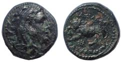 Ancient Coins - Kings of Macedon. Kassander. As regent, 317-305 BC, or King, 305-297 BC. Æ 1/2 Unit