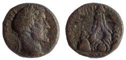 Ancient Coins - Cappadocia, Caesarea. Antoninus Pius. AD 138-161. Æ 19