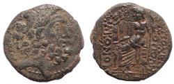 Ancient Coins - Seleukis and Pieria. Antioch. 1st century BC. Æ Tetrachalkon.