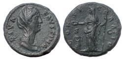 Ancient Coins - Diva Faustina Senior, 138-161 AD. AE Dupondius