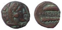 Ancient Coins - Kings of Macedon: Alexander III, 336-323 BC. Æ 16