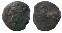 Ancient Coins - Kings of Numidia. Massinissa or Micipsa. 203-148 BC or 148-118 BC. Æ Unit