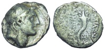 Ancient Coins - Seleukid Kings of Syria: Demetrios I, 162-150 BC. AR Drachm