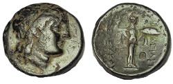 Ancient Coins - Seleucid Kingdom, Seleukos I, Nikator (312-280 BC) AE 22