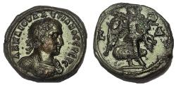 Ancient Coins - Egypt, Alexandria. Valerian I.253-260 AD. Tetradrachm. EF