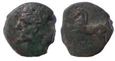 Ancient Coins - Kings of Numidia. Massinissa or Micipsa. 203-148 BC or 148-118 BC. Æ Unit