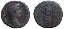 Ancient Coins - Aelius. Caesar, AD 136-138. Æ Sestertius