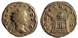 Ancient Coins - Divus Severus Alexander. Died AD 235. AR Antoninianus. Very Rare.