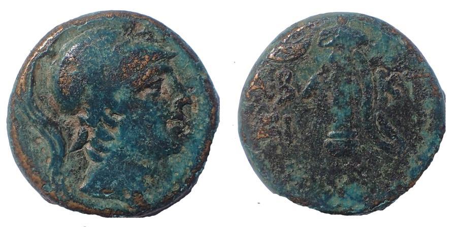 Ancient Coins - Pontos, Chabakta. Circa 100-85 BC. Æ 20