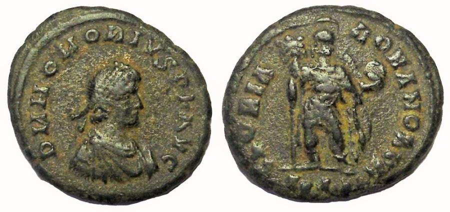 Ancient Coins - HONORIUS, 393-423 AD. Æ 22MM, GLORIA ROMANORVM REVERSE