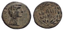 Ancient Coins - Galatia. Koinon of Galatia. Claudius, 41-54. Hemiassarion Ae 20
