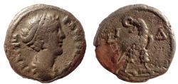 Ancient Coins - Egypt, Alexandria. Faustina Junior. Augusta, AD 147-175. Tetradrachm. Rare.