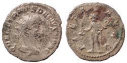 Ancient Coins - Herennius Etruscus. As Caesar, AD 249-251. AR Antoninianus. Rare.