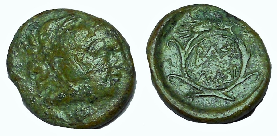 Ancient Coins - Kings of Thrace. Lysimachos. 305-281 BC. Æ 16