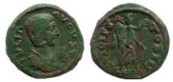 Ancient Coins - Macedon, Stobi. Julia Domna. Augusta, AD 193-217. Æ 24
