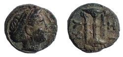 Ancient Coins - Mysia, Kyzikos, 4th-3rd century BC. Ae 12
