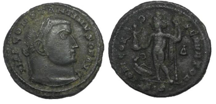 Ancient Coins - Constantine I, 306-337 AD.  AE Follis, 21 mm