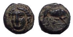 Ancient Coins - Ionia, Phygela, circa 350-300 BC. Æ 8