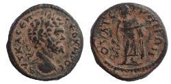 Ancient Coins - Lydia, Thyateira, Septimius Severus, AD 193-211, Ae 19. Rare.