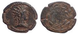 Ancient Coins - Phrygia. Peltai . Pseudo-autonomous issue AD 138-192. Æ 18. Rare.