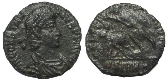 Ancient Coins - Constantius II, 337-361 AD.  AE Follis