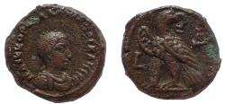 Ancient Coins - Egypt, Alexandria. Valerian II. Caesar, AD 256-258. BI Tetradrachm