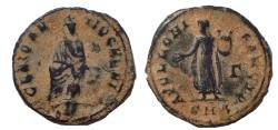Ancient Coins - Maximinus II. AD 310-313. Æ 17, 'Persecution' issue